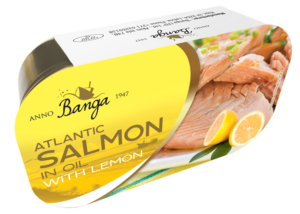 Salmon In Oil With Lemon