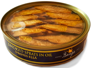 Smoked Sprats Oil
