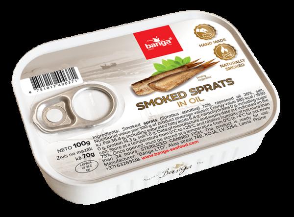 Sprats Oil 100