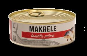 Makrele Tomatu Bez Fona